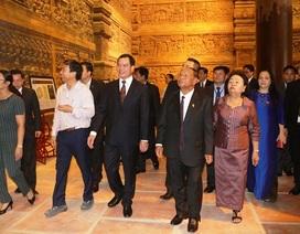 Chủ tịch Quốc hội Vương quốc Campuchia thăm và làm việc tại Hà Nam