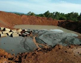 Vụ hàng loạt nước giếng chuyển màu đen: Yêu cầu công ty hỗ trợ tiền mua nước sạch
