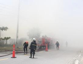Đà Nẵng: Cháy lớn thiêu rụi xưởng làm hương rộng hơn 500m2
