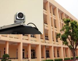 Nghệ An: Chi hơn 1 tỉ đồng lắp camera bảo vệ kỳ thi THPT quốc gia