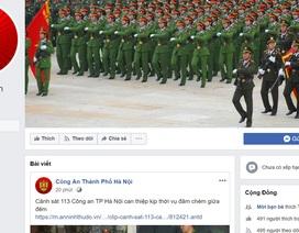 Công an Hà Nội tiếp nhận thông tin về an ninh trật tự qua Facebook