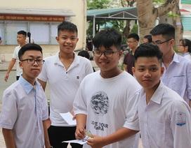 Thí sinh Hà Tĩnh chính thức bướcvào kỳ thi lớp 10 THPT