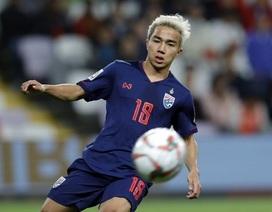 Chanathip Songkrasin bất ngờ chia tay đội tuyển Thái Lan trước King's Cup