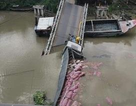 Sở GTVT Đồng Tháp thông tin nhanh vụ sập cầu do quá tải trọng