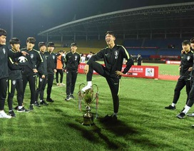 Bị tước chức vô địch vì ăn mừng phản cảm, U18 Hàn Quốc cúi đầu xin lỗi