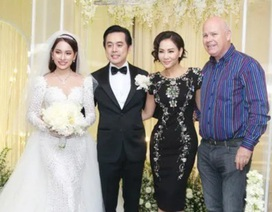 Chồng Thu Minh tháp tùng vợ dự đám cưới nhạc sĩ Dương Khắc Linh