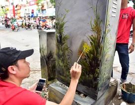 """Gần 200 bốt điện ở Hà Nội """"biến hình"""" đẹp như tranh"""