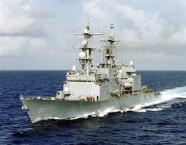 """Nhà Trắng lên tiếng về người yêu cầu tàu USS John McCain đi """"khuất mắt"""" ông Trump"""