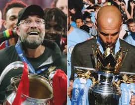 Pep Guardiola chúc mừng Jurgen Klopp sau chức vô địch Champions League