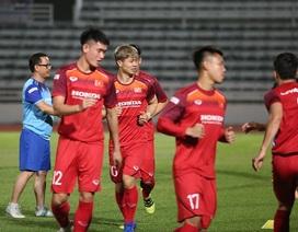 Quang Hải, Công Phượng cười tươi rói chờ đấu Thái Lan