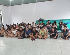 """Hơn 100 người tham gia """"tiệc ma tuý"""" trong quán karaoke ở ngoại ô Sài Gòn"""