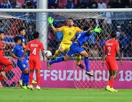 Đội tuyển Thái Lan đặc biệt nguy hiểm ở các tình huống cố định