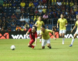 Những tình huống đội tuyển Việt Nam bị cầu thủ Thái Lan chơi xấu