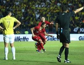 Thái Lan 0-1 Việt Nam: Bàn thắng phút bù giờ của Anh Đức