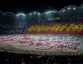 """Triều Tiên dừng màn đồng diễn """"biển người"""" vì ông Kim Jong-un nổi giận"""
