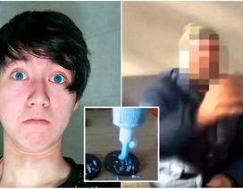 Lừa người vô gia cư ăn bánh kẹp kem đánh răng, nam thanh niên đi tù