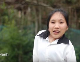 Ước mơ cháy bỏng của cô sinh viên tật nguyền nghèo khó dân tộc Tày
