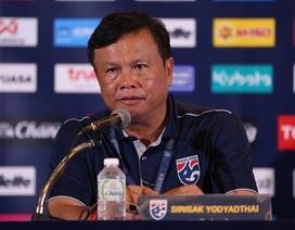 """HLV Thái Lan: """"Chúng tôi thua Việt Nam vì phung phí nhiều cơ hội"""""""