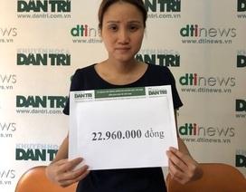 Gần 23 triệu đồng tiếp tục trao tặng đến gia đình người lính Trường Sơn nhiễm cúm A/H1N1