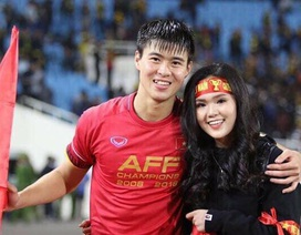 Bạn gái cầu thủ Duy Mạnh gay gắt khi cầu thủ Thái Lan khiêu khích trên Facebook