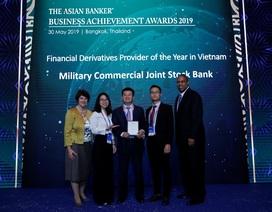 Nhận giải thưởng của Asian Banker, MBBank khẳng định vị thế hàng đầu trên thị trường phái sinh
