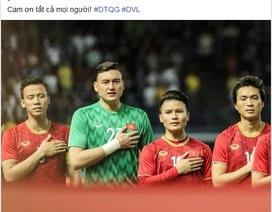 Công Phượng, Quang Hải, Văn Lâm sung sướng tột cùng sau chiến thắng trước Thái Lan