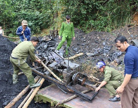 """Phạt chủ mỏ than """"thổ phỉ"""" ở Hà Tĩnh 70 triệu đồng"""