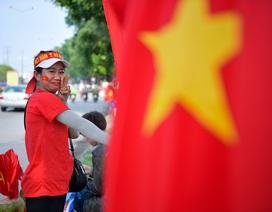 CĐV Hà Nội lên Phú Thọ cổ vũ cho U23 Việt Nam gặp Myanmar