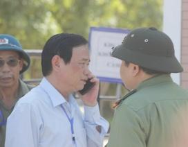 Giám đốc Sở GD-ĐT gọi điện xin lỗi thí sinh lỡ môn thi vì không được thông báo