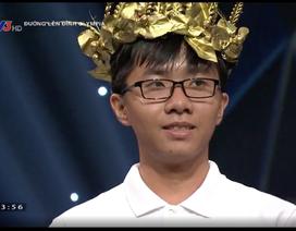 Nam sinh Cần Thơ giữ 2 kỷ lục Olympia giành vé vào chơi Chung kết năm
