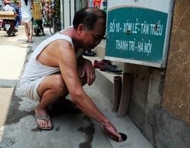 Tháng đầu mùa nóng, tá hoả hóa đơn tiền nước 33 triệu đồng