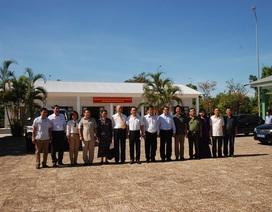 Bàn giao nhà làm việc Bộ Ngoại giao tại Di tích trụ sở Chính phủ cách mạng lâm thời Cộng hòa miền Nam Việt Nam