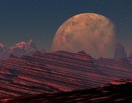 Miệng núi lửa rộng 1500 km trên sao Hỏa có thể có sự sống