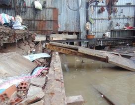 """Cà Mau: Nhiều nhà dân lại bị """"nuốt chửng"""", thiệt hại tiền tỷ"""