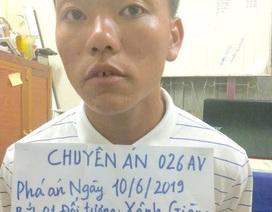 Bắt đối tượng người Lào vận chuyển 30 bánh heroin
