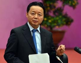 Bộ trưởng bộ Tài Nguyên-Môi trường đề nghị cấm khai thác cát sỏi vào ban đêm