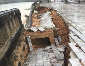 Chi hơn 3 tỷ đồng sửa chữa khẩn cấp kè hồ Thành cổ Quảng Trị