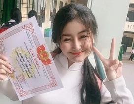 """Lộ bảng điểm kém không ngờ của hot girl """"toàn diện"""" Võ Ngọc Trân"""