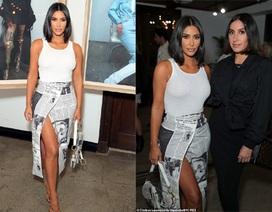 Kim Kardashian trẻ trung với tóc ngắn