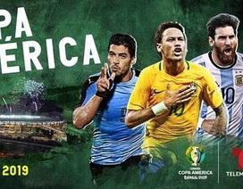 """Ứng dụng lịch thi đấu thông minh Copa America 2019 dành cho các """"tín đồ"""" bóng đá"""