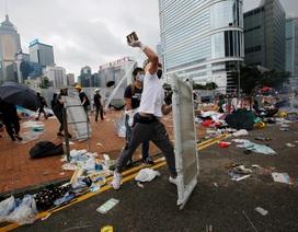 Hong Kong ngổn ngang sau làn sóng biểu tình