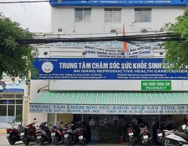 Giám đốc Trung tâm chăm sóc sức khỏe sinh sản An Giang bị cách chức