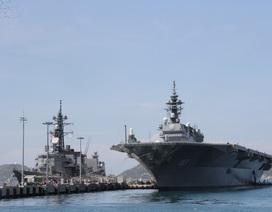 Hai chiến hạm hàng đầu Nhật Bản ghé thăm Cam Ranh