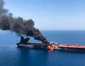 """Iran """"tố ngược"""" Mỹ tấn công tàu dầu, Washington cân nhắc phương án quân sự"""