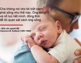 Những câu nói truyền cảm hứng về cha