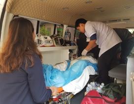 Vụ nổ lớn ở Cam Ranh: 3 nạn nhân bỏng nặng đã được chuyển vào TPHCM chữa trị
