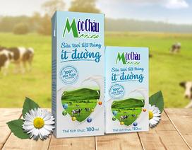 Sữa tươi ít đường Mộc Châu Milk: Sản phẩm chất lượng từ công ty trên 60 năm lịch sử