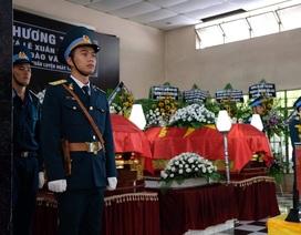 Xúc động tang lễ 2 phi công hy sinh khi bay huấn luyện ở Khánh Hòa