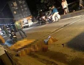 """Truy bắt tài xế container cán chết bé gái trên đường """"tử thần"""" rồi bỏ chạy"""