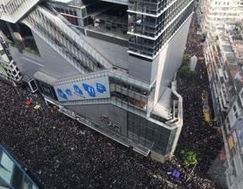 Gần 2 triệu người xuống đường biểu tình, lãnh đạo Hong Kong xin lỗi người dân